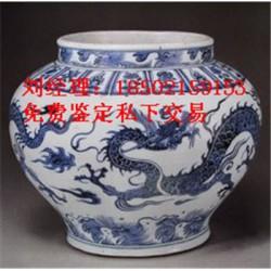 元青花唐太宗人物梅瓶图片及价格