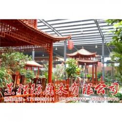 灵丘景程防腐木厂
