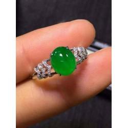 豪镶高冰旦面戒指上哪买比较好,绿随形旦面