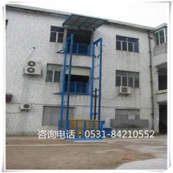白银 货物运输电梯 导轨式电梯 无机房 承载