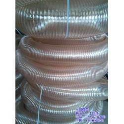 钢丝通风管价格、潍坊钢丝通风管、透明钢丝