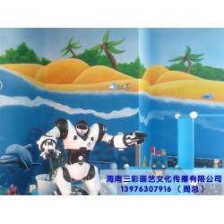 海南三彩画艺文化传播_知名的海南墙绘公司