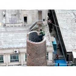 临桂20米烟筒拆除公司诚信价格首 选 千秋高