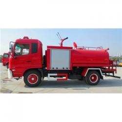 哈密地区5方消防洒水车出售_东风多利卡消防
