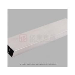 亿玺方管 电子管件工业铝边框 精密加工