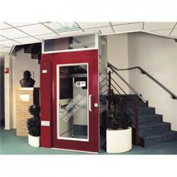 黄岗直供泰辉三层三站玫瑰金家用电梯效果图