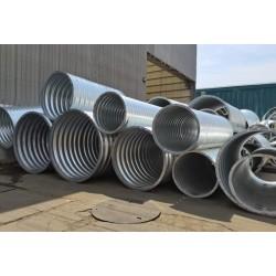 1.5米金属波纹管涵 镀锌波纹涵管每米价格