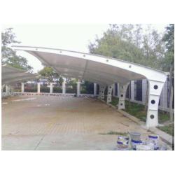 湖北2020膜结构车棚膜结构车棚 黄冈充电站遮阳棚膜结构生产