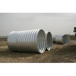 直径1米钢制波纹管涵 镀锌钢波纹涵管