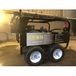广东广州350公斤进口高压清洗工程机械挖机黄油水泥设备