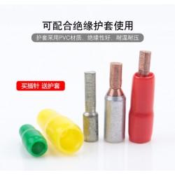 GTLA铜铝插针 C45空开铜铝端子 电表专用针式铜铝鼻子