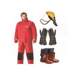 3000公斤瑞典TST工业水刀防护服超高压水射流清洗防护服