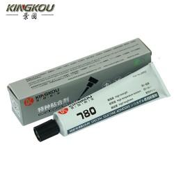 硅橡胶密封条粘铝壳长期耐高温选用780硅胶专用粘合剂