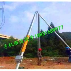 三角架起杆机 立杆机立杆器 铝合金立杆机