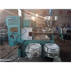 吉林100型商用花生榨油机【结构性能】