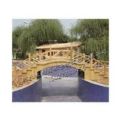 天津防腐木古建门楼造价-防腐木水车价格