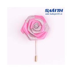 有实力的双色丝带玫瑰胸针厂家倾情推荐——
